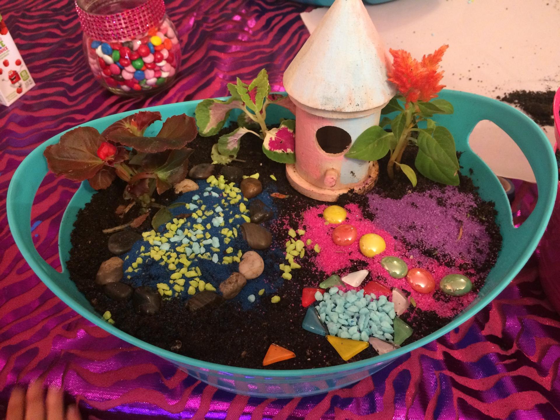 Colorful Pixie Fairy Garden Fu