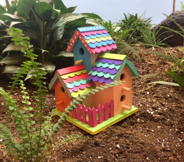 Creative Early Birdhouses Workshop