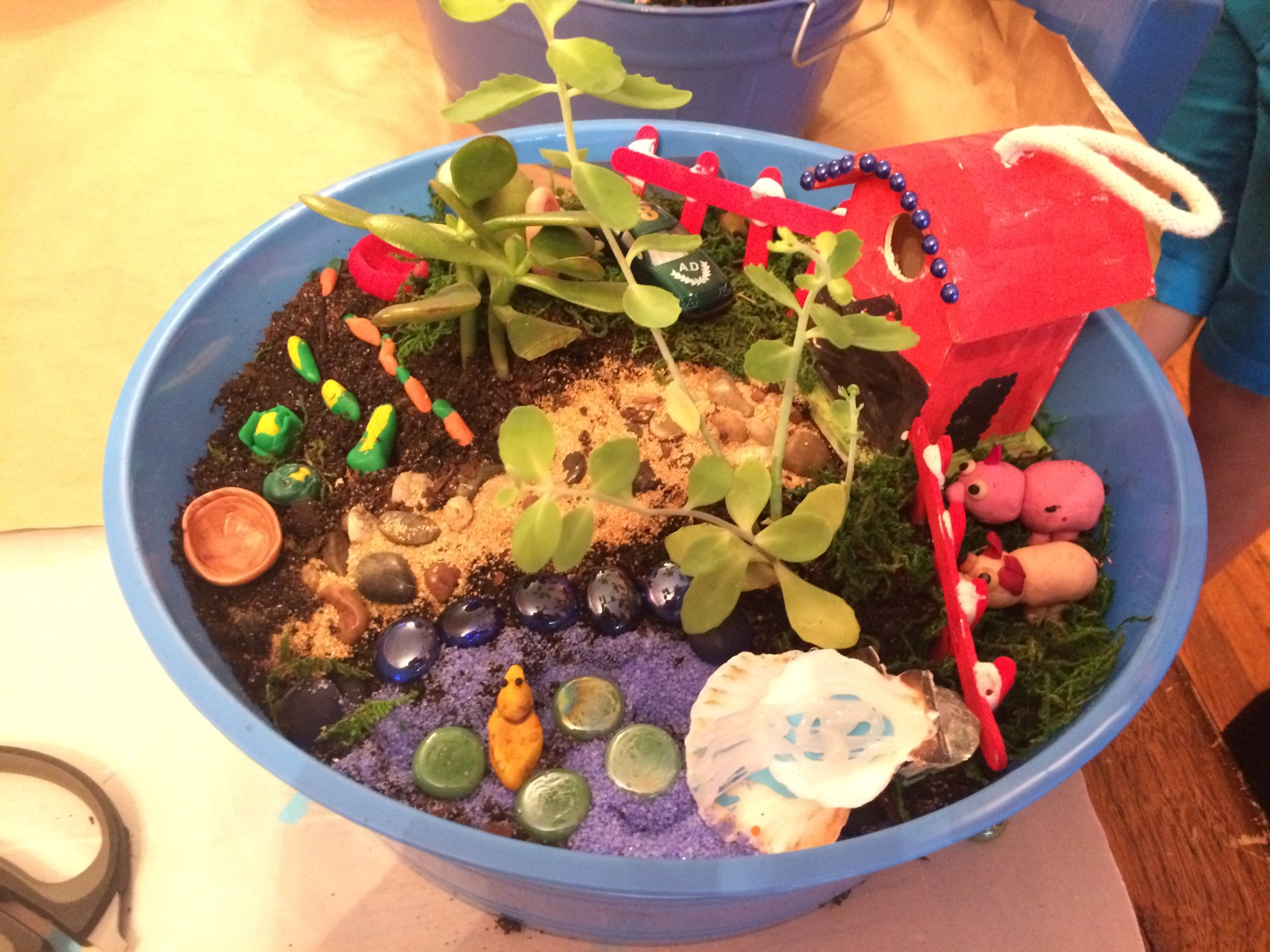 Artistic Imagination Gardens-Check out handmade clay miniatures!!!