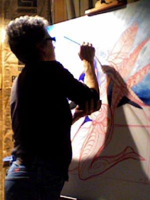 Jane Evershed, Artist