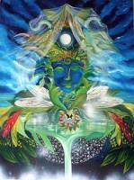 The Divine Feminine, oil on canvas,