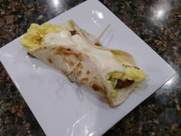 Yummy egg Taco