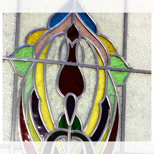 stained glass lead light repair