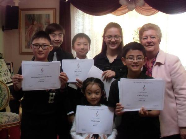 UMT Junior Award Winners 2018