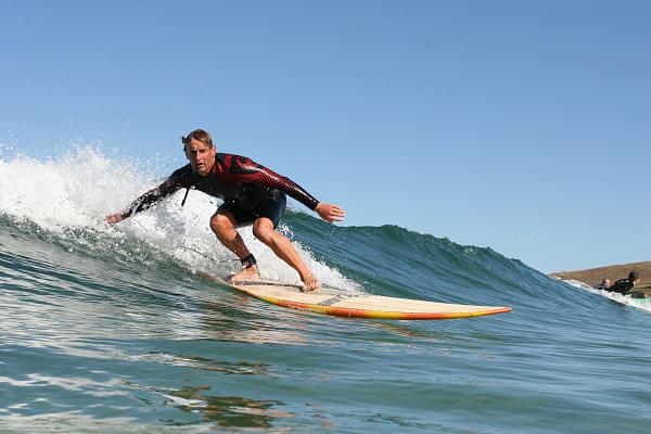 surfing gwithian godrevy beach cornwall