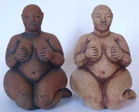 Catral Hoyuk sculpture, Turkish neolithic goddess, Turkish sculpture, anatolian sculpture, Ama Menec sculpture.
