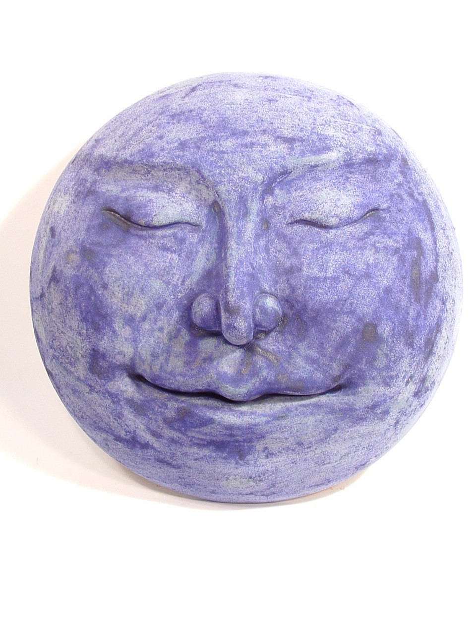 New moon sculpture, new moon art, moon sculpture, moon hanging, new moon bas relief, Ama Menec sculpture