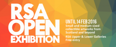 RSA Open Exhibition in Edinburgh, Scotland.