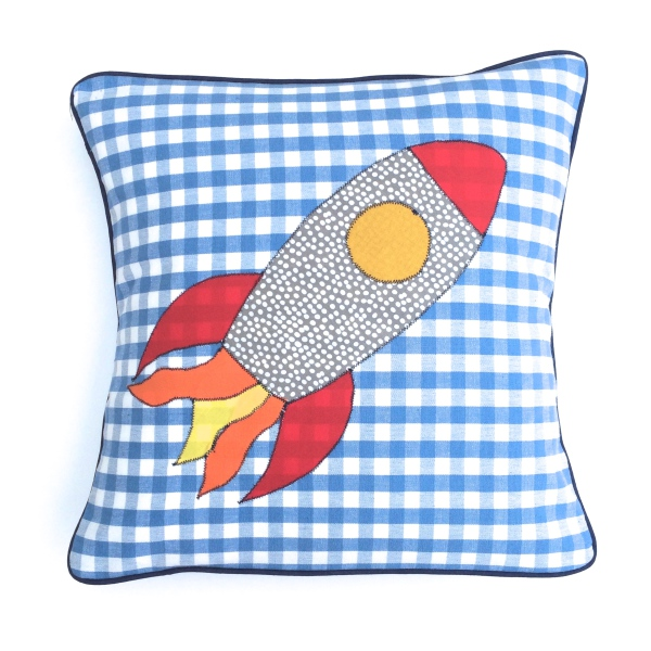 Rocket Applique - £35