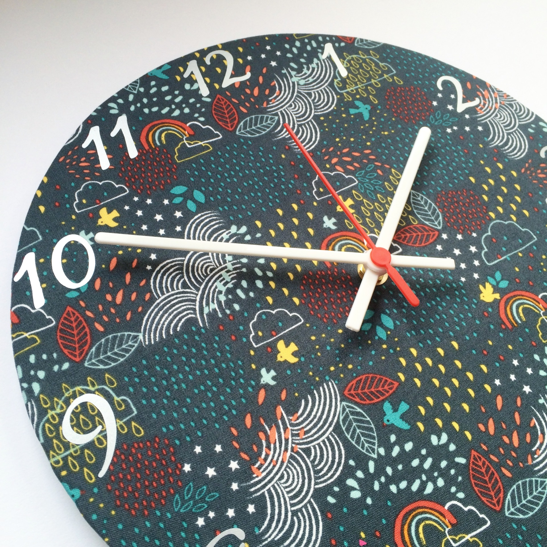 Raindrop and Cloud Clock - £20