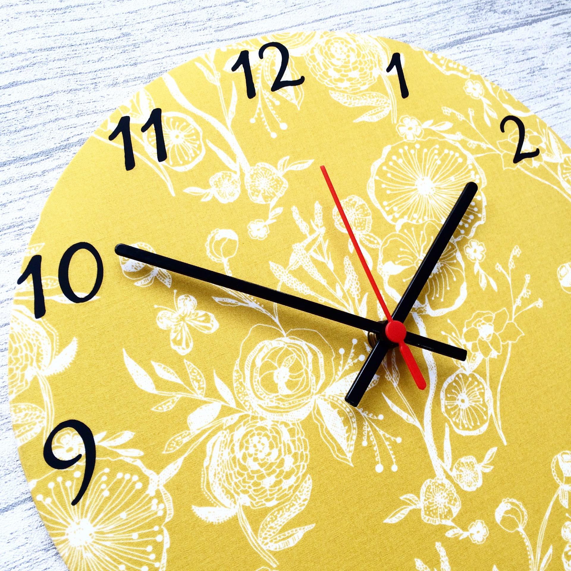 Custom - Floral Clock - £20