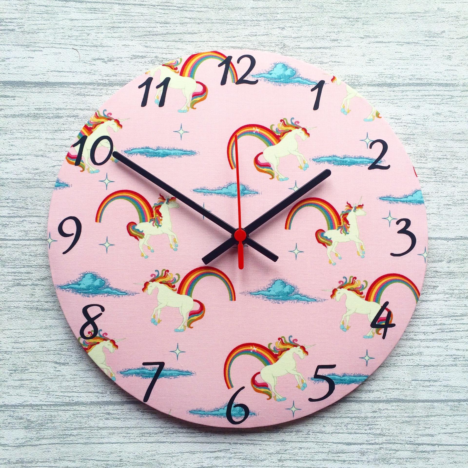 Unicorn Clock - £20