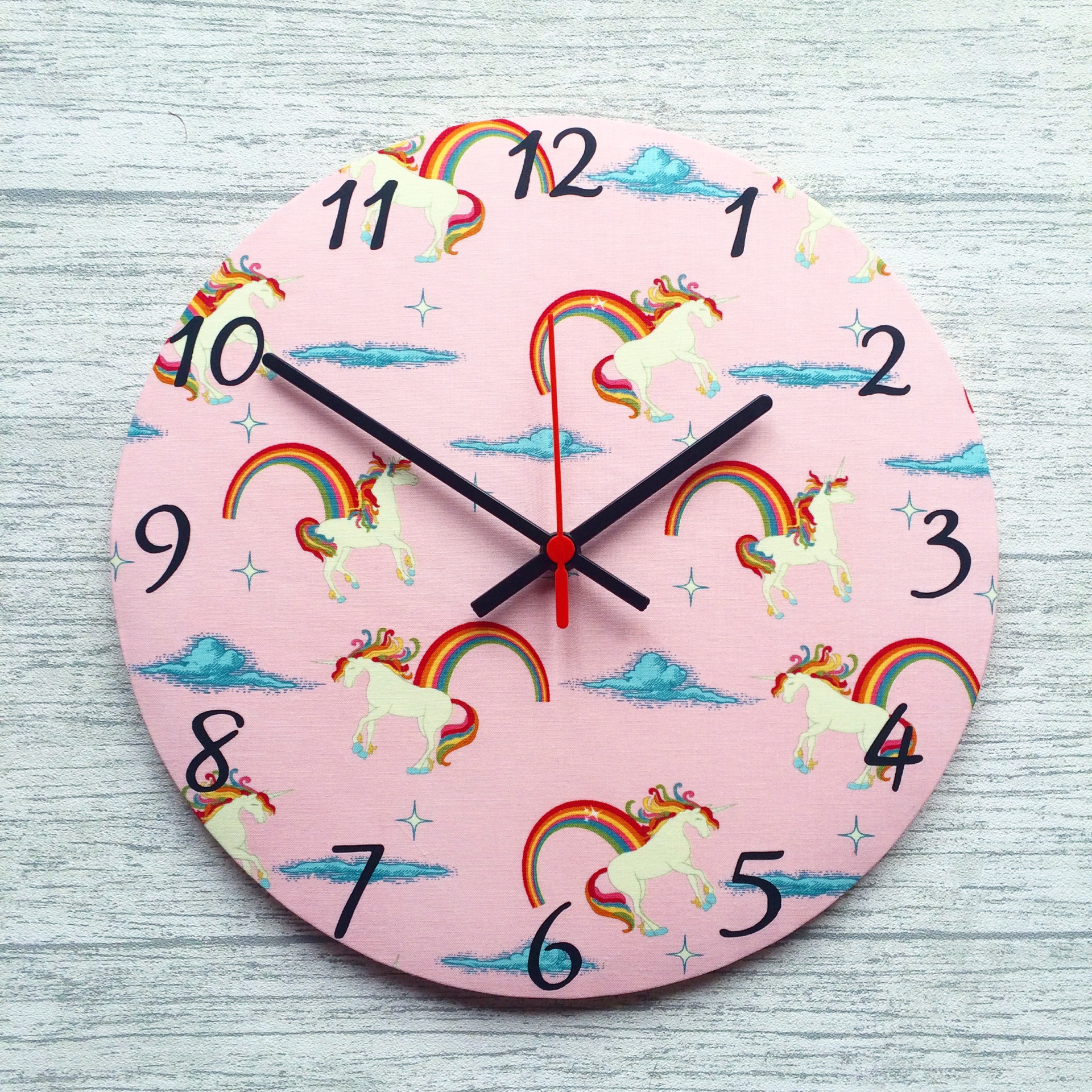 Unicorn Clock - £20