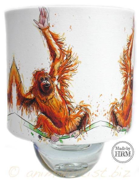 Orangutan Lampshade