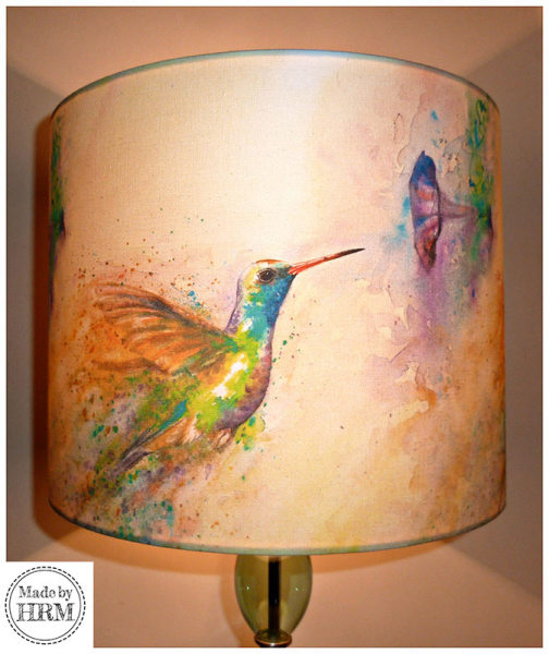 Hummingbird Lampshade