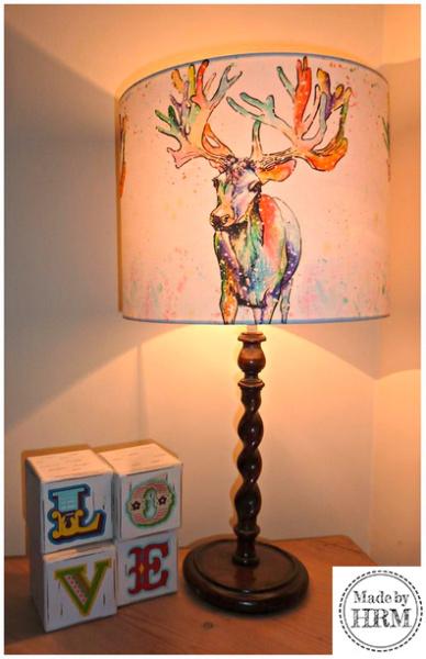 Ray Reindeer Lampshade
