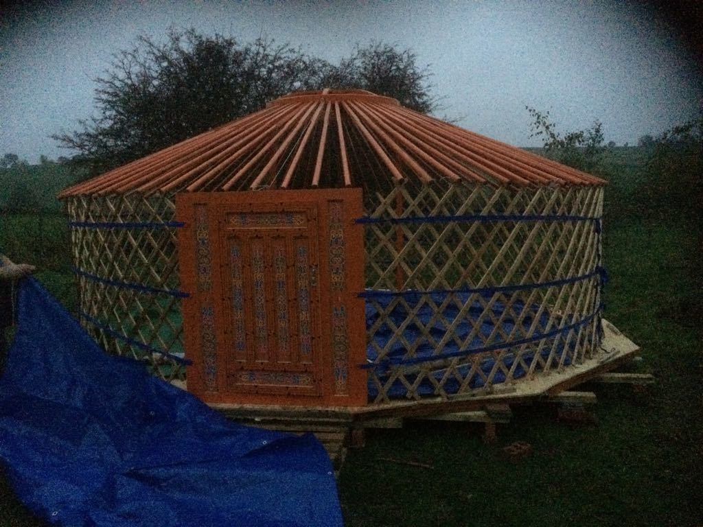 How to get a yurt to France
