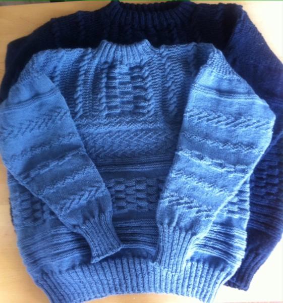 hand knit dutch gansey
