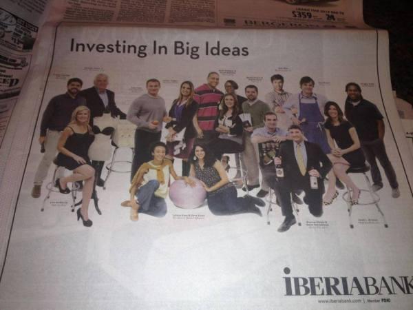 Times Picayune, Iberia Ad