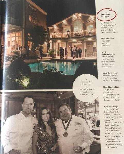 """Most Glam Event 2016"" St. Charles Ave Magazine"