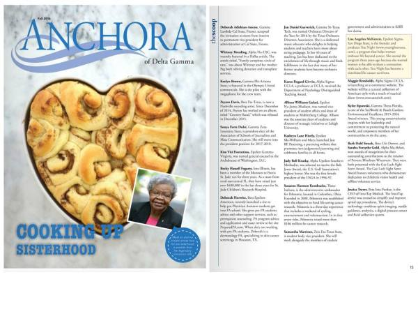 The Anchora of Delta Gamma Magazine
