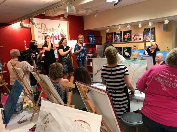 Painting with a Twist ScART event