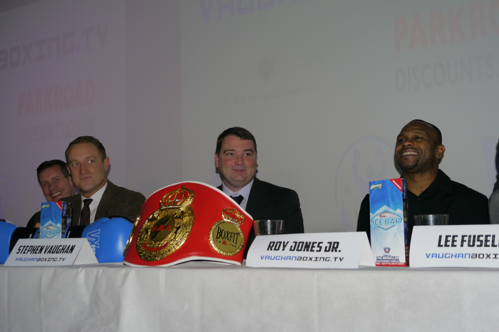Roy Jones Jr, Stephen Vaughan, Francis Warren