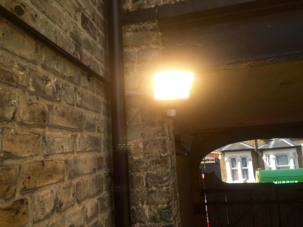 Temporary Security Lighting