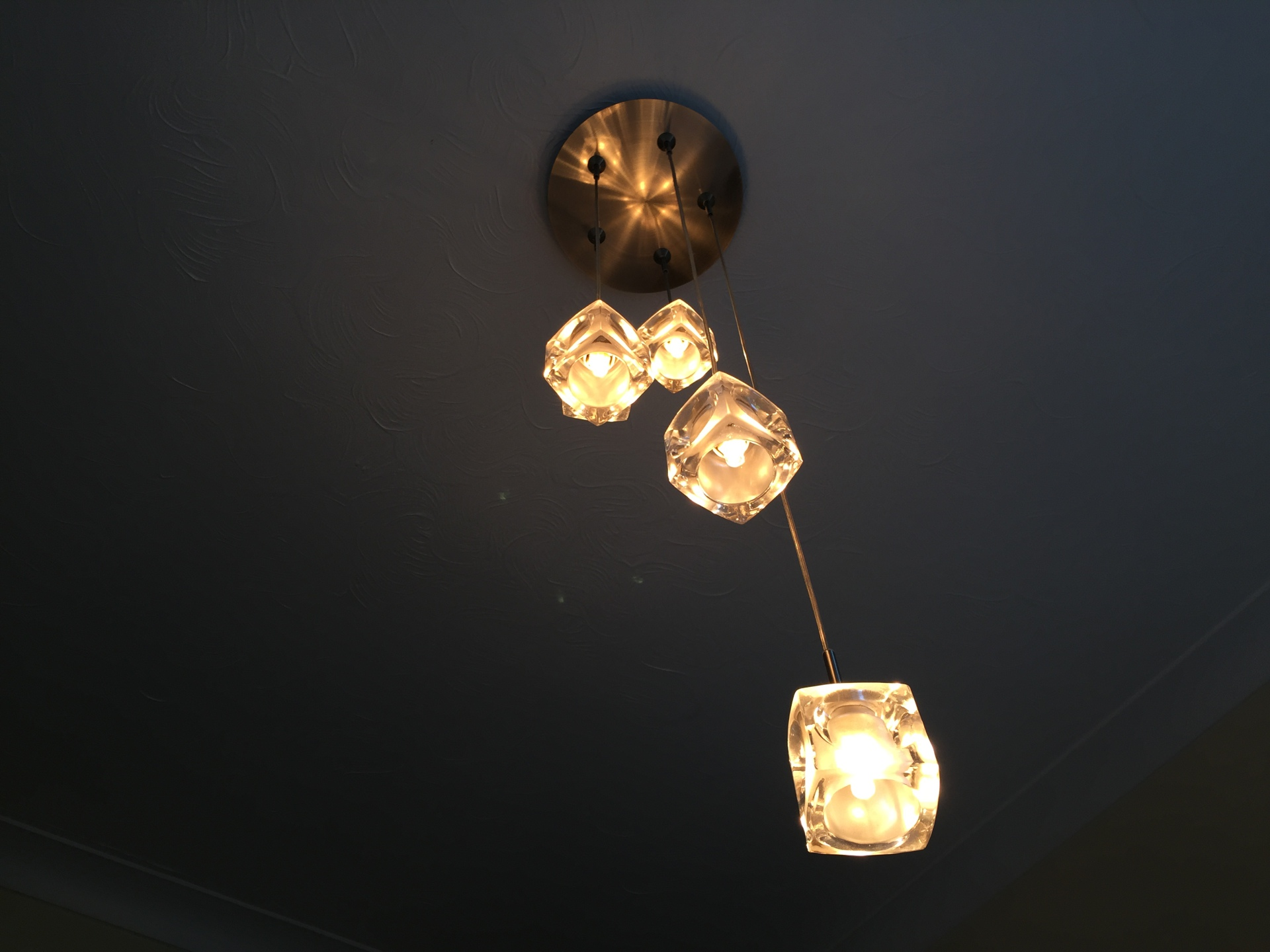 G4 Halogen, Drop Pendant