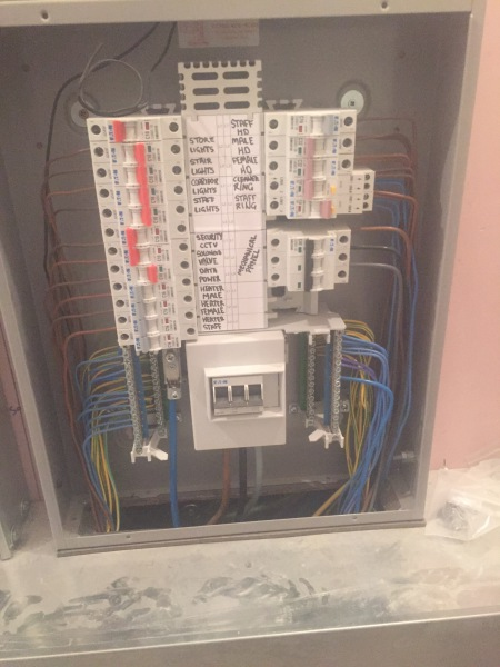 Commercial - 3 Phase Consumer unit (fuse board)