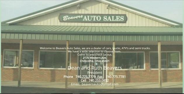 beavers auto sales