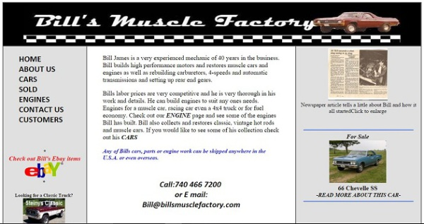 Bills Muscle Factory