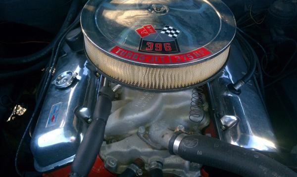 1966 Chevelle Engine