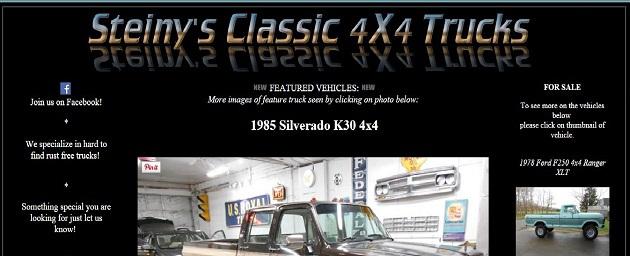 Steinys Classic 4x4 Trucks