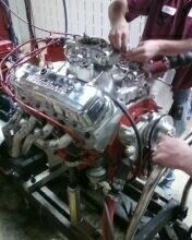 Big Block Chevy Engine Built By Bill James   Kingston, Ohio 45644