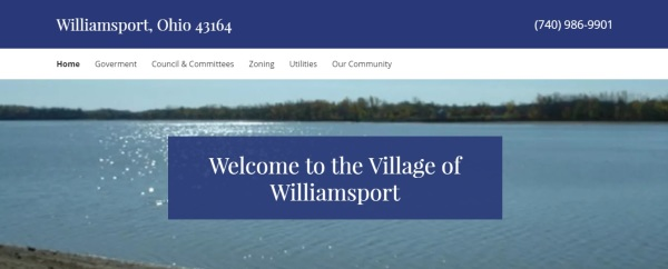 village of williamsport, ohio 43164 | website by Pamela J. James