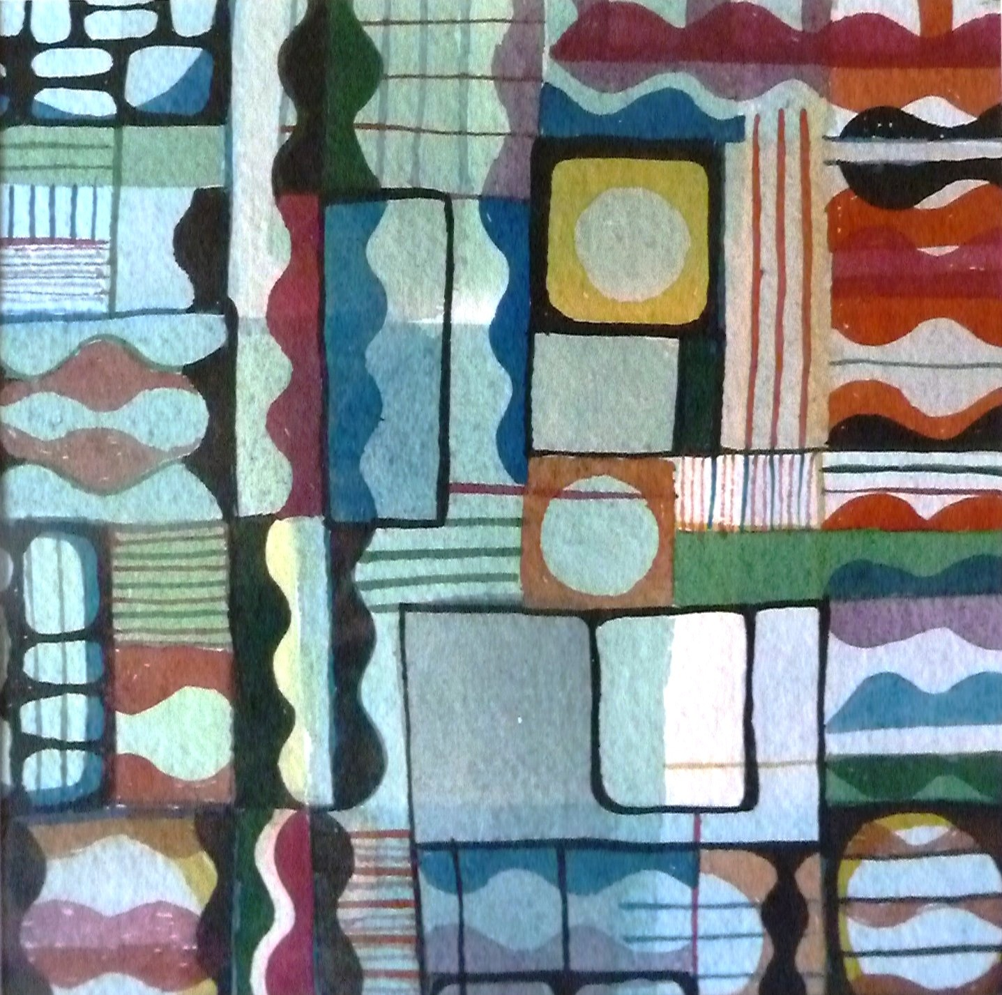 60s piece. Watercolour on Handmade Paper. 2014.