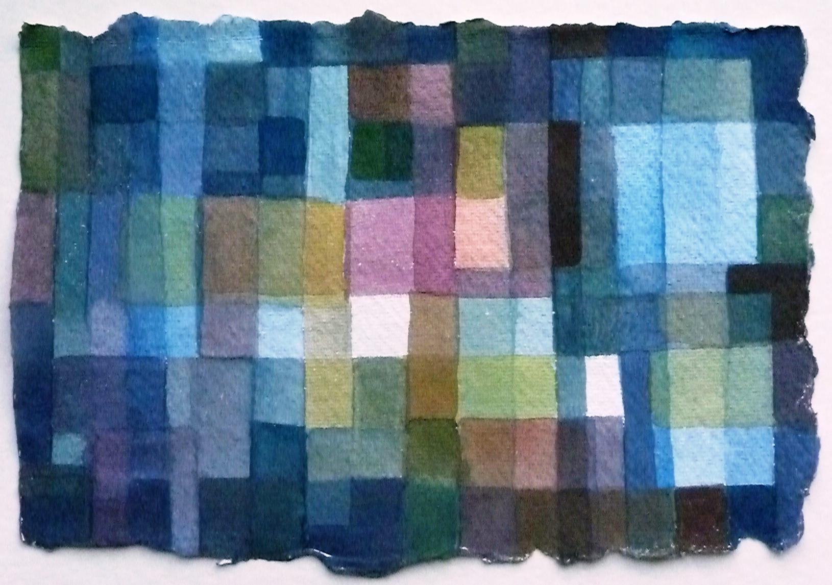WINDOWS.  Watercolour on Handmade Paper. 2014.