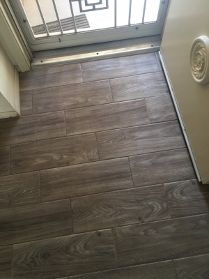 Floor Remodel- Wood Plank