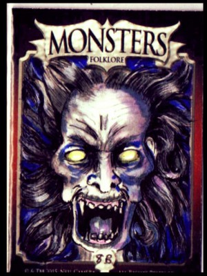 MONSTER CARD -BANCHEE