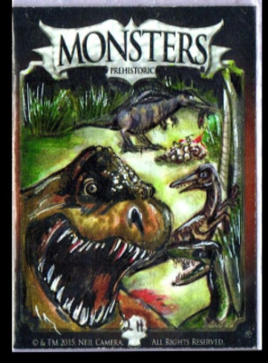 MONSTER CARD-PREHISTORIC