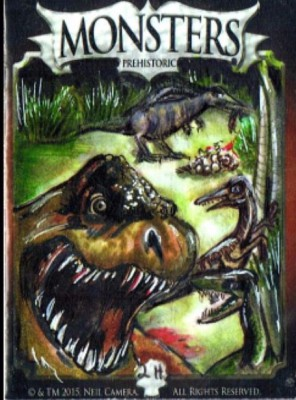 dinosaur Monster Card