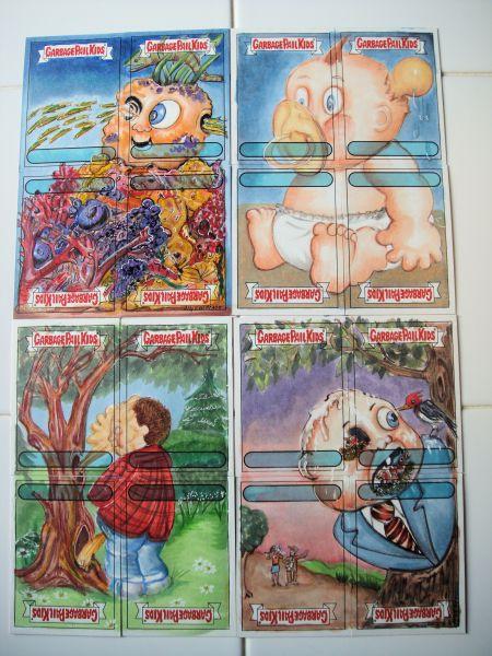 4 card puzzle sketch