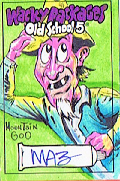 mountain goo- wacky packages Sketch