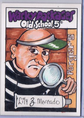 FORGERS WACKY PACKAGES 0S5