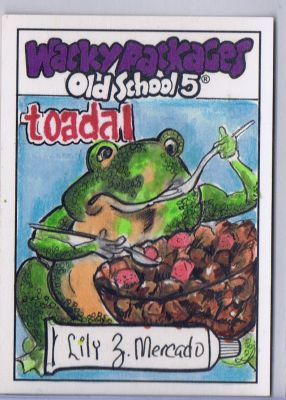 TOADAL; WACKY PACKAGE