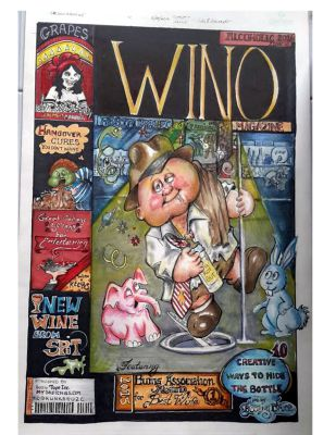 Boozin Bruce -Wino Magazine