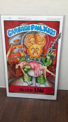 GPK aLIEN IN NYC- SOLD
