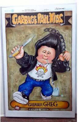 Greaser Greg 11x17 large art