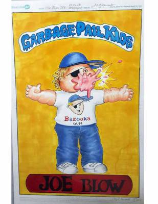 GPK JOE BLOW 11X17 ART